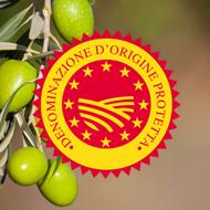 Olio extra vergine di oliva italiano a denominazione di origine protetta DOP
