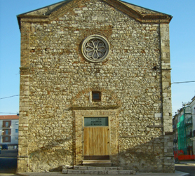 Fotografia dell'antica chiesa di San Rocco a Rotello (CB), città natale dell'Olio di oliva.