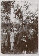 Olio Pangia extravergine d'oliva italiano - foto di famiglia del passato a Rotello